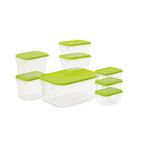 Polka Container Set of 8,  green