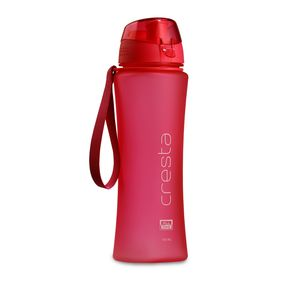 Cresta On The Go Soft Touch Unbreakable PC Water Bottle, 650 ml,  pink