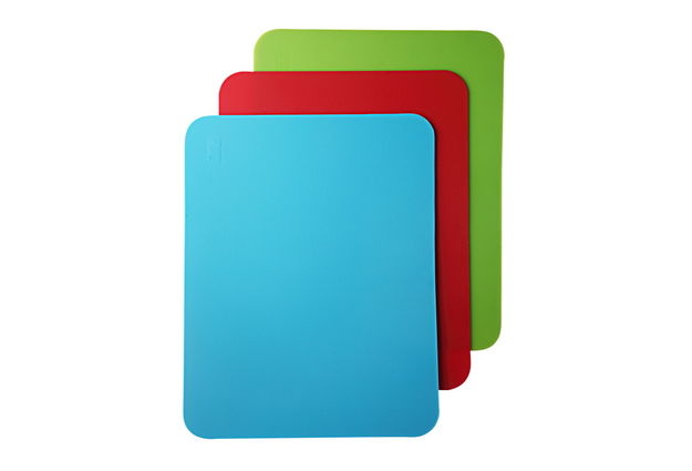 Chopping Mat Set of 3, 32x25x0.22cm, multi color