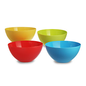 Mixing Bowl Set, 3.75 Litre, Set Of 4, multi color