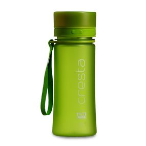 Cresta Soft Touch Travel Unbreakable PC Water Bottle, 500 ml,  green