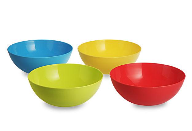 Mixing Bowl Set, 1.35 Litre, Set Of 4, multi color