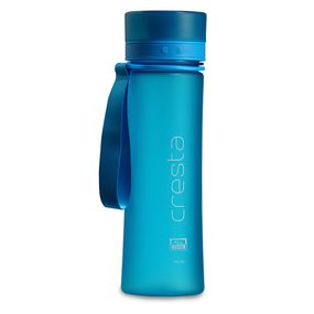 Cresta Soft Touch Travel Unbreakable PC Water Bottle, 700 ml,  blue