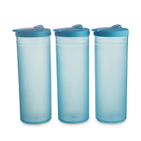 Freeze Bottle Set, 1 Litre, Set Of 3,  blue