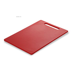 Chopping Board 34X23X1 Cm,  red
