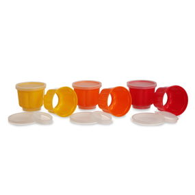 Jelly Mould Set of 6, multi color