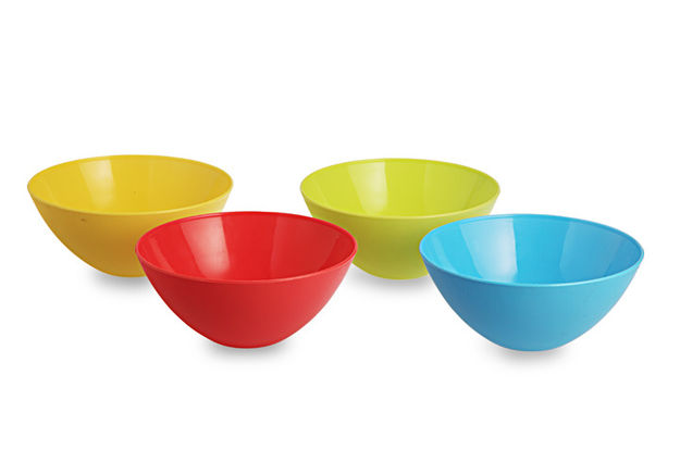 Mixing Bowl Set, 800Ml, Set Of 4, multi color