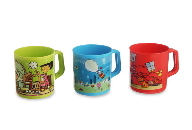 Joy Mug Set, Set Of 3, multi color