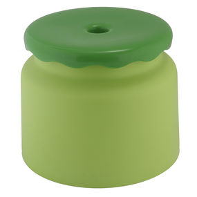 Frosty Bathroom Stool,  green