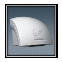 ABS Hand Dryer (2000W) -Model No WH208