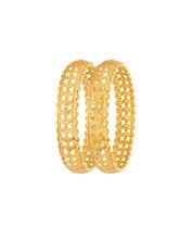 Sapna FX Gold Plated Bangle (2 Pcs) - 8054, 2.6