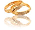 Sapna Gold Plated Bangle (2 Ps) - 7003, 2.4
