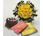 BAF Friendly Wishes 1 kg Gift, fixed time delivery