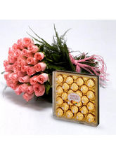 BAF Roses With Chocolates Gift, Free Shipping