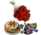BAF Happiness Bouquet 500 gms Gift, midnight delivery