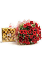 BAF Yummy N Rosy Gift, Fixed Time Delivery