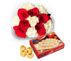BAF Flowers With 1Kg Sone Papri Gift, free shipping