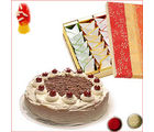 BAF Cake N Sweets 500 gms Gift, fixed time delivery