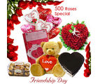 BAF Friendship Day-Friendship- 500 Roses Gift