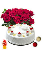 BAF Cakes n Flowers 500 gms Gift Smart, free shipping
