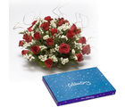 BAF Roses N Conveys Gift, free shipping
