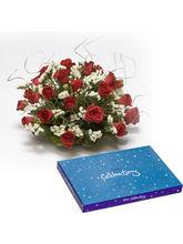 BAF Roses N Conveys Gift, free shipping
