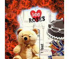 BAF 500 RosesLove Special Gift, fixed time delivery