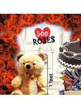 BAF 500 RosesLove Special Gift, Fixed Time Deliver...