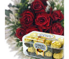 BAF Red Rose Surprise Gift, midnight delivery