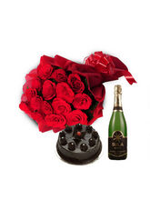 BAF Celebration Champagne Hamper Gift, Midnight De...