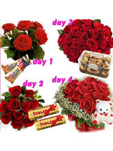 BAF 4 Days Non Stop Love Gift, Free Shipping