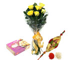 BAF Yellow Roses N Sweets Gift