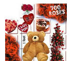 BAF 700 Roses - Love Special Gift, midnight delivery
