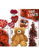 BAF 700 Roses - Love Special Gift, Midnight Delive...