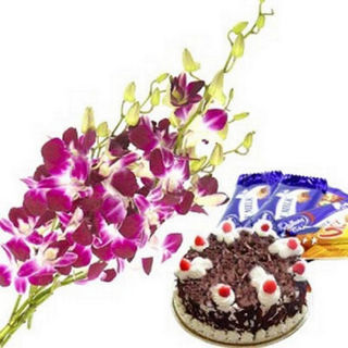 BAF Orchids Special 1 Kg Gift, Midnight Delivery