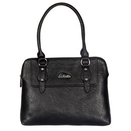 ESBEDA LADIES HAND BAG ST10,  black