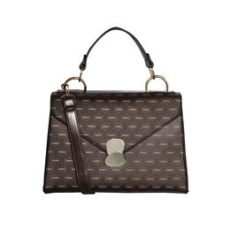 ESBEDA Printed Pattern Signature Logo handbag For Women,  brown