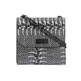 ESBEDA LADIES SLING BAG EB-001,  black white snake