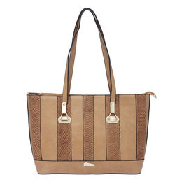 ESBEDA LADIES HANDBAG 18641,  brown