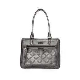 ESBEDA Solid Pattern Blissy Handbag For Women,  grey