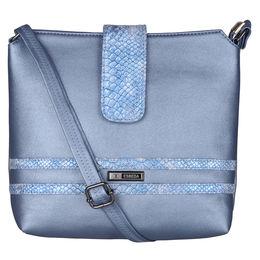 ESBEDA Solid Pattern Lucy Slingbag -1005457,  blue