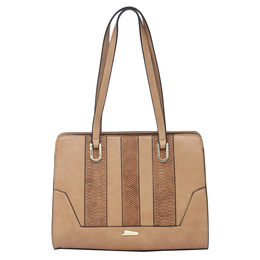 ESBEDA LADIES HANDBAG 18645,  brown