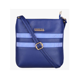 ESBEDA Medium Size Rayon Slingbag For Womens-A00100042-45,  navy blue