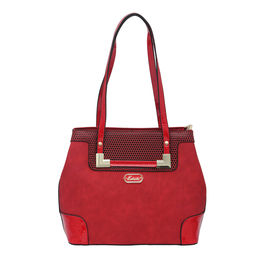 ESBEDA LADIES HANDBAG 18693-3,  red
