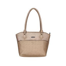 ESBEDA Glitter Emboss Hand bag For women,  gold