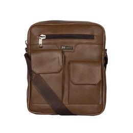 ESBEDA Solid Camaro Crossbody Sling bag For Men,  khaki