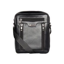 ESBEDA Solid Pattern Rodeo Crossbody Sling bag For Mens,  black