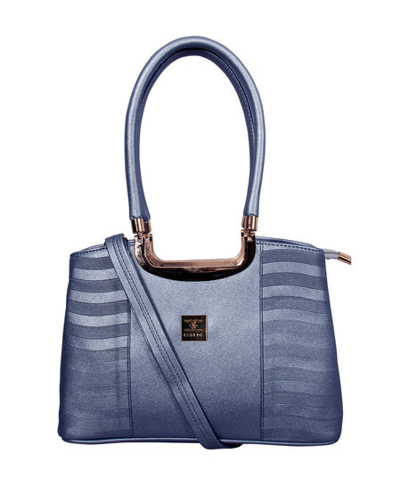 ESBEDA Emboss Glossy handbag-A00100028-14/5869,  blue