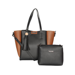 ESBEDA Solid Pattern Zac handbag with Pouch For Women,  black