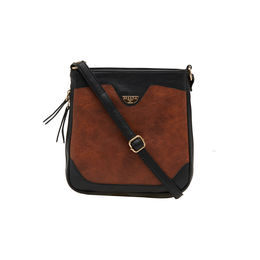 ESBEDA LADIES SLING BAG AS070417-1,  tan-black